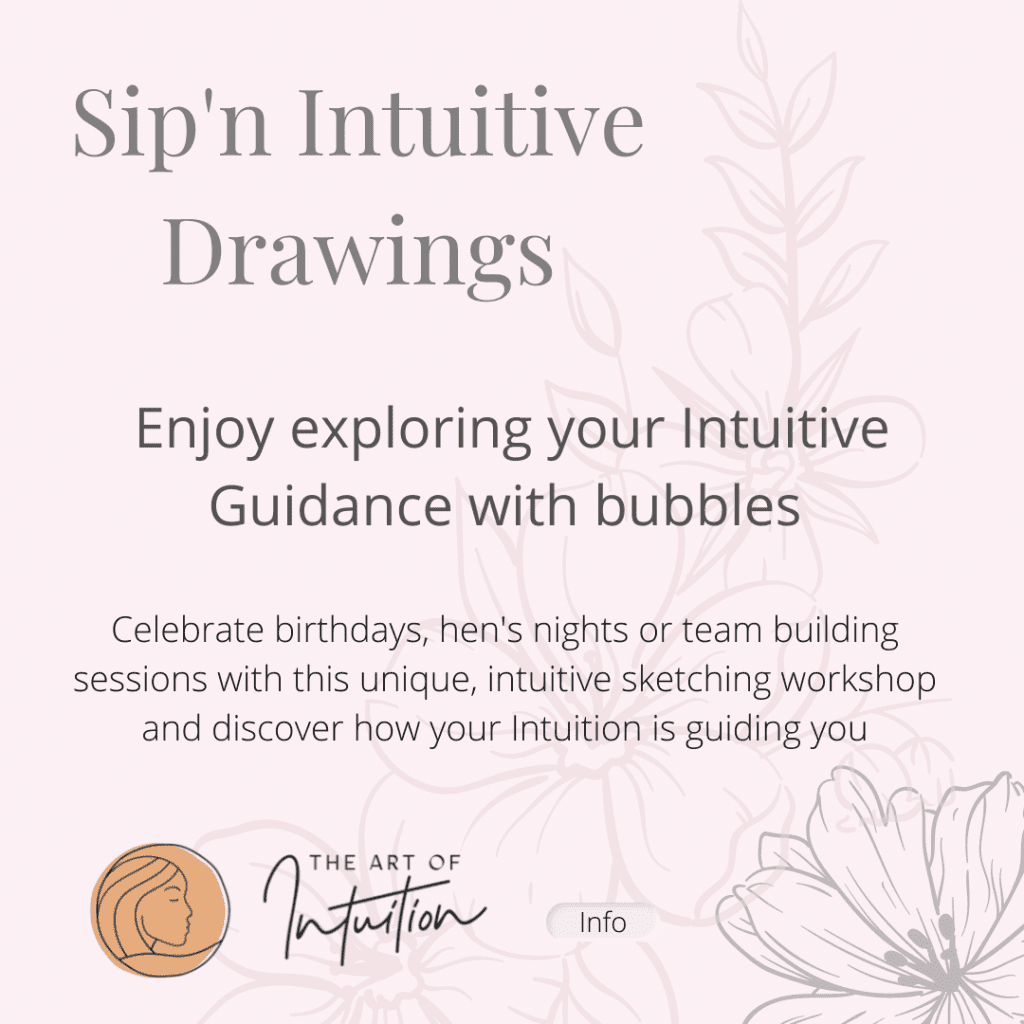 The Art of Intuition Sip'n Intuitive Drawings