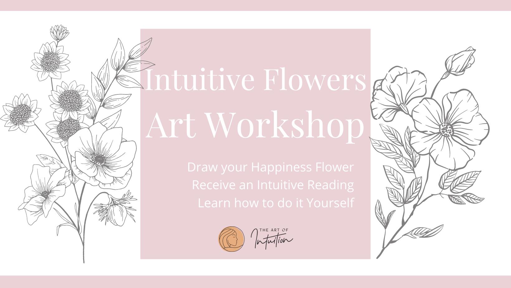 Intuitive Flowers Art Reading Workshops